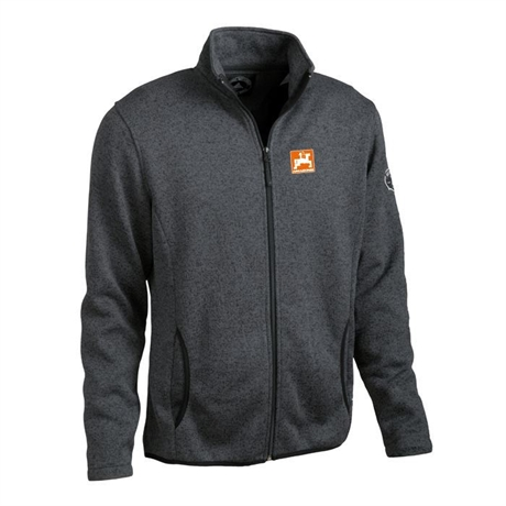 Stickad Fleece Amazone, herr