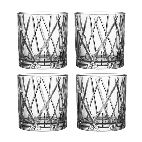 Whiskeyglas City 4-pack Deutz-Fahr, Orrefors