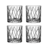 Whiskeyglas City 4-pack Amazone, Orrefors